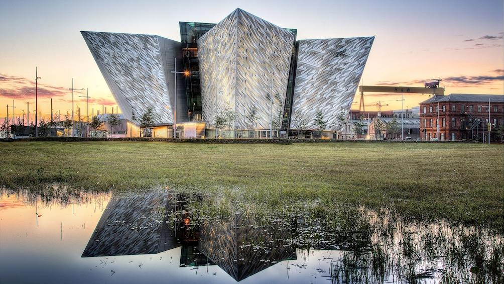 The Titanic Belfast in Ireland