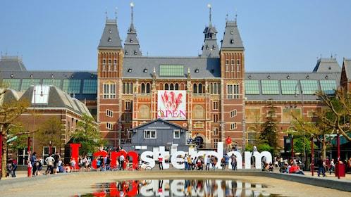 museum exterior in amsterdam