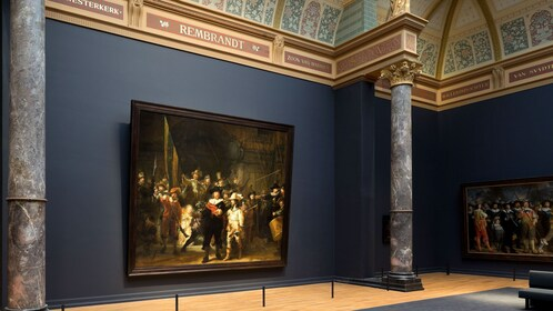 Painting in museum in Amsterdam
