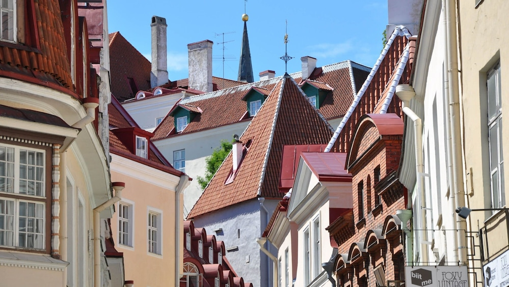Show item 4 of 8. Architectural Walk of Tallinn with a Local