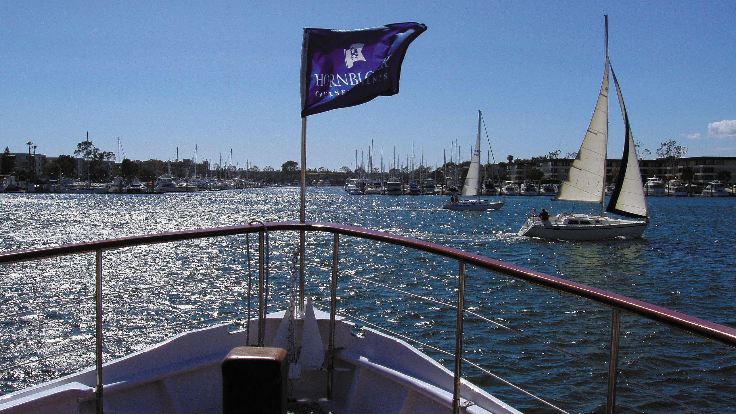 Witness breathtaking views of Marina del Rey on the Starlight Dinner Cruise