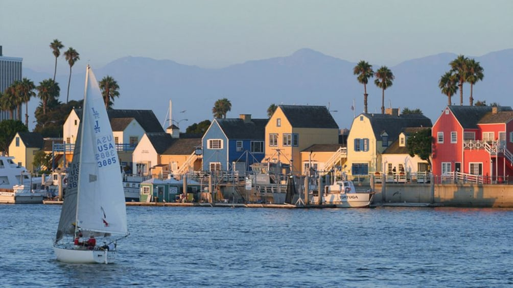 Show item 3 of 7. Depart from Marina del Rey and enjoy views of the Los Angeles coastline on the Champagne Brunch Cruise
