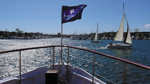 Witness breathtaking views of Marina del Rey on the Champagne Brunch Cruise