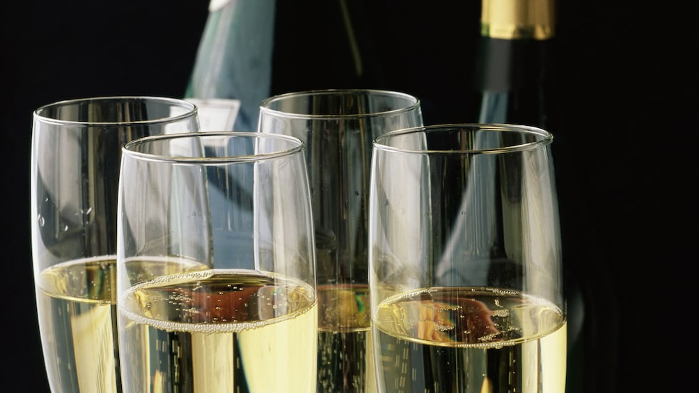 Show item 7 of 7. Enjoy brunch and champagne on the Champagne Brunch Cruise in Marina del Rey