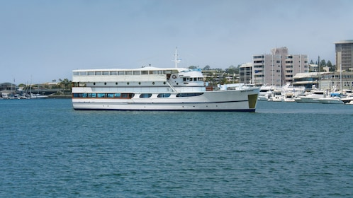 Wild Goose is one of the featured yachts departing on the Starlight Dinner Cruise from Newport Beach