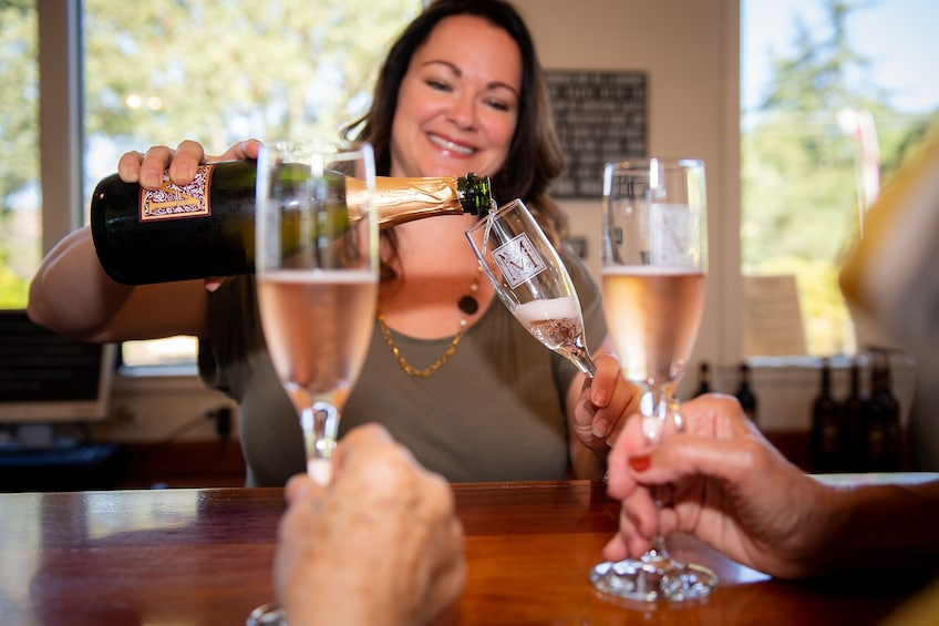 Show item 1 of 10. Redwoods & Wine Country Escape to Sonoma & Napa with Optional Gourmet Lunch