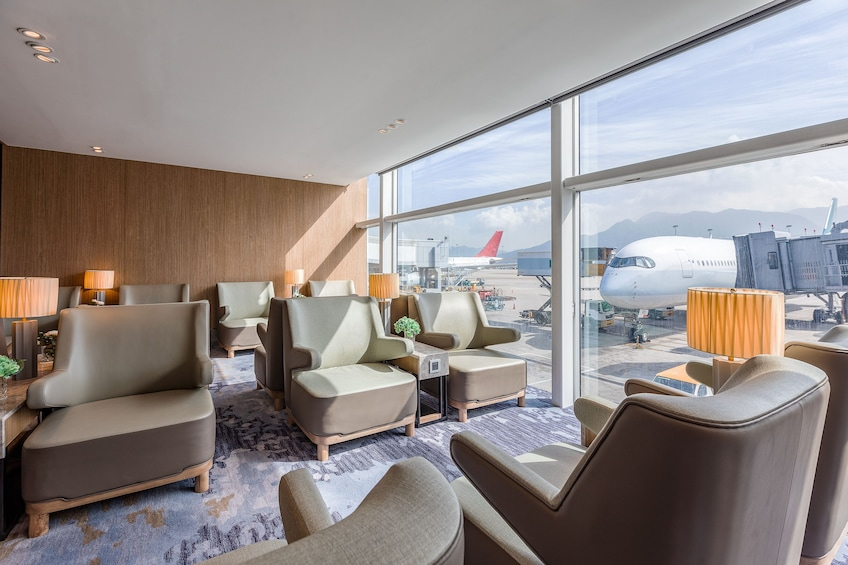 Plaza Premium Lounge at Hong Kong International Airport (HKG)