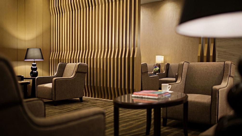 Show item 1 of 6. Lounge area at Macau International Airport Lounge