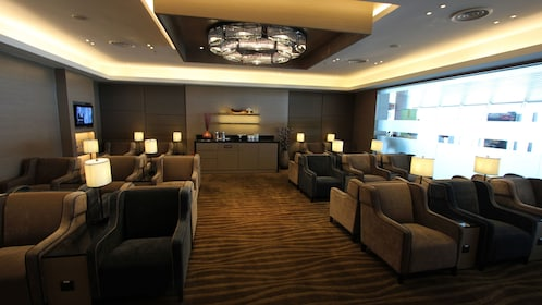 Lounge area at Kota Kinabalu International Airport Lounge
