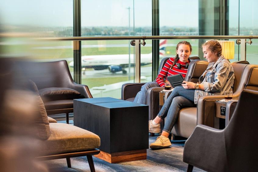 Show item 3 of 7. Plaza Premium Lounge at London Heathrow Airport (LHR) - Terminal