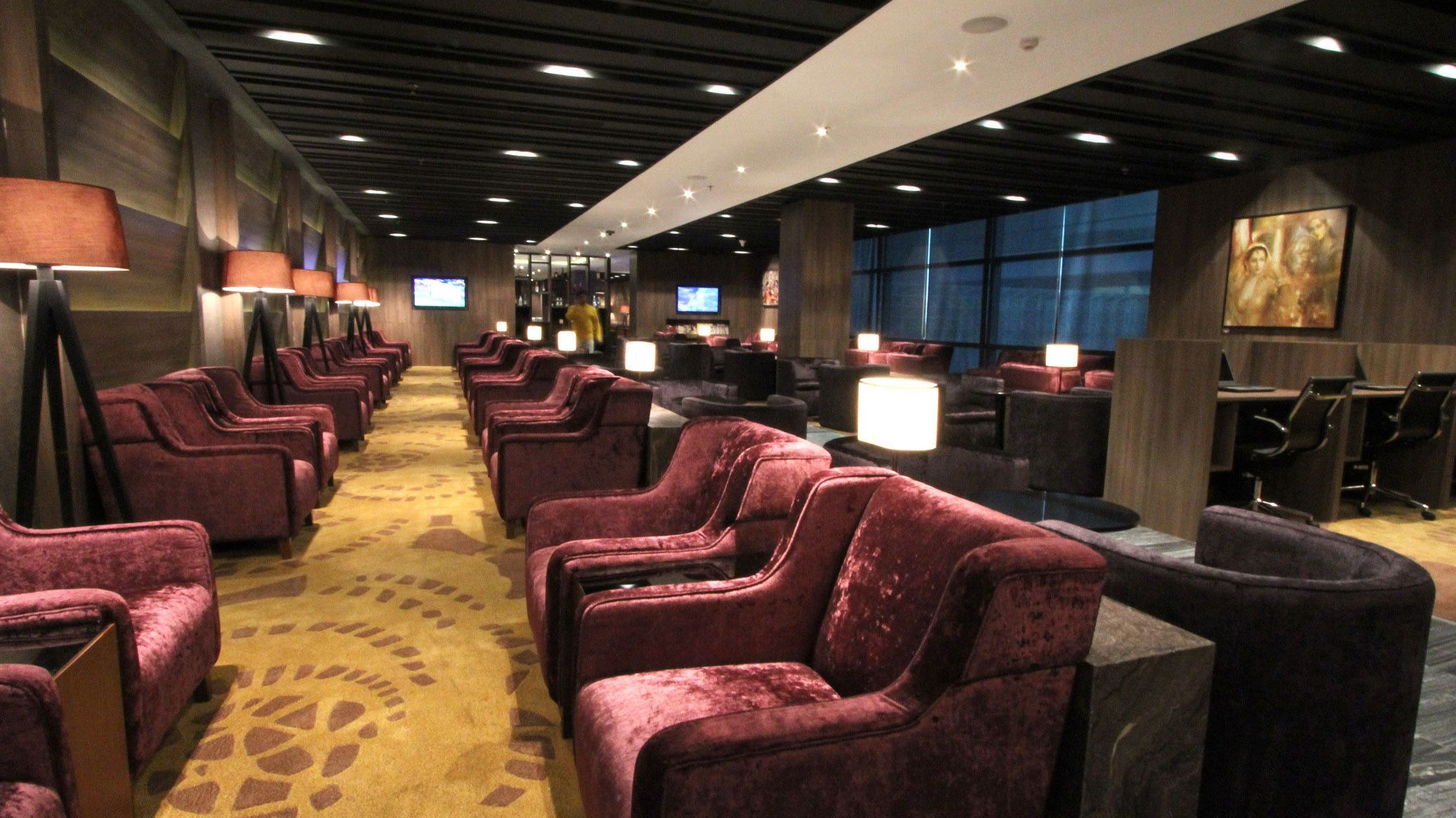 Plaza Premium Lounge at Indira Gandhi International Airport