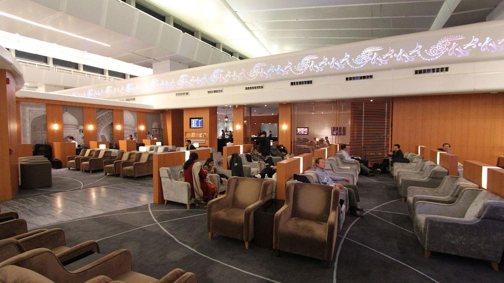 正在顯示第 4 張相片,共 9 張。 Lounge area in Delhi