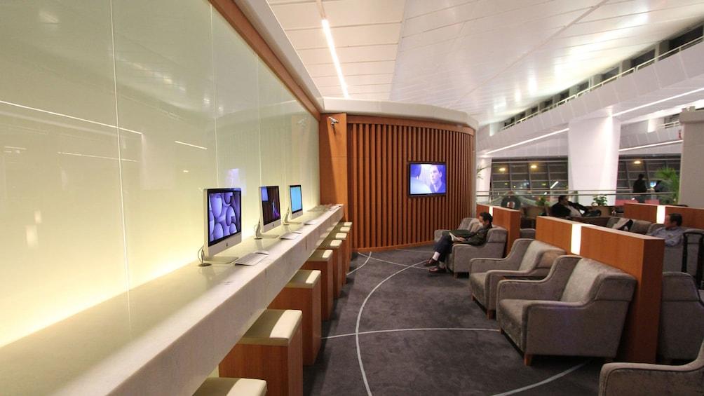 Lounge area in Delhi