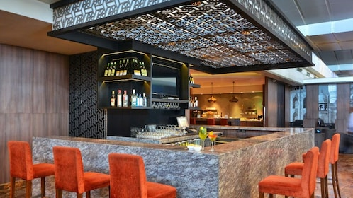 Bar area in Delhi