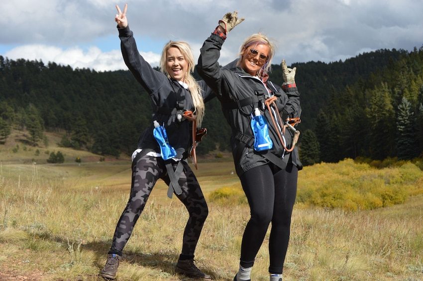Show item 3 of 5. 6-Zipline Adventure in the Rocky Mountains