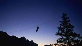 4-Zipline Adventure in the Rocky Mountains - Sunset