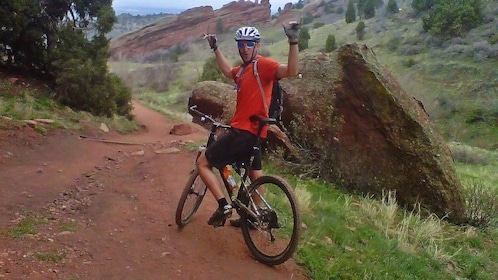 Excited to go mountain biking in Denver