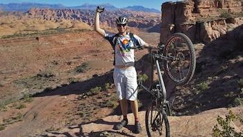 Guided Mountain Biking Tour in the Rockies