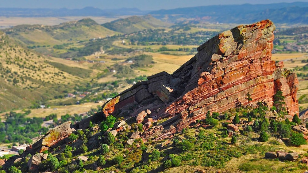 Red Rocks Amphitheatre in Denver