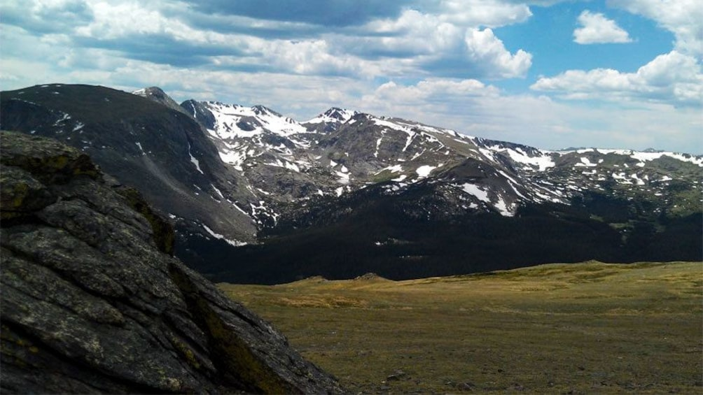 View from the top of the hike in Denver