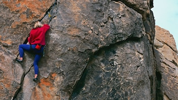 Guided Rock Climbing Adventure in the Rocky Mountains