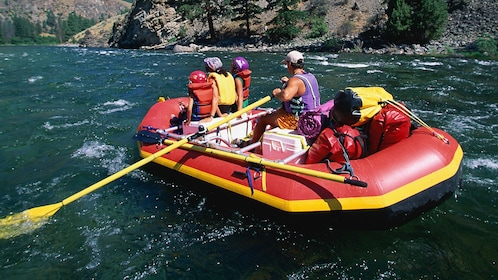 White water rafting with guide in Denver
