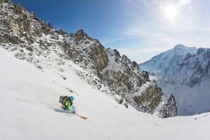 Telemark skiing lesson on Chopok, Jasná - Free your heel