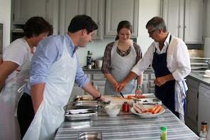 Parijse kookles in een kleine groep
