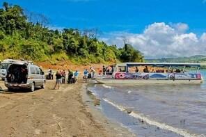 Jeep Boat Jeep (Bus Boat Bus) Monteverde Cloud Forest to La Fortuna