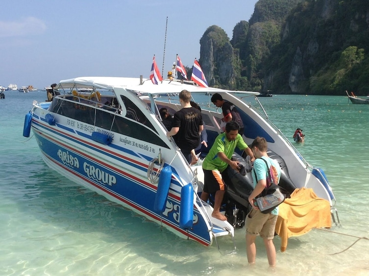 Show item 6 of 6. Koh Phi Phi to Krabi by Arisa Speed Boat Group