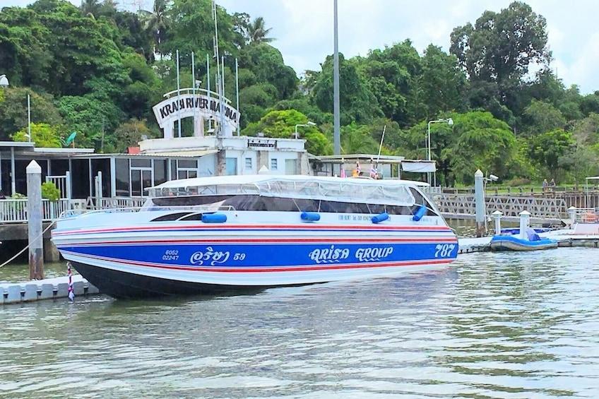 Show item 3 of 6. Koh Phi Phi to Krabi by Arisa Speed Boat Group