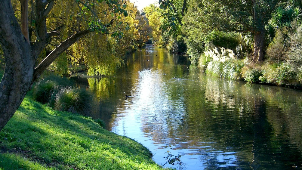 Body of water in Christchurch City Tour in Christchurch New Zealand.