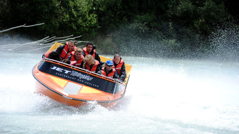Jet Boat Tour of Waimakariri River