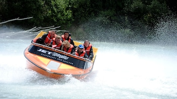Jet Boat Tour of Waimakariri River