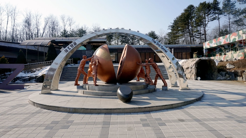 Show item 5 of 5. Third Tunnel entrance in Paju
