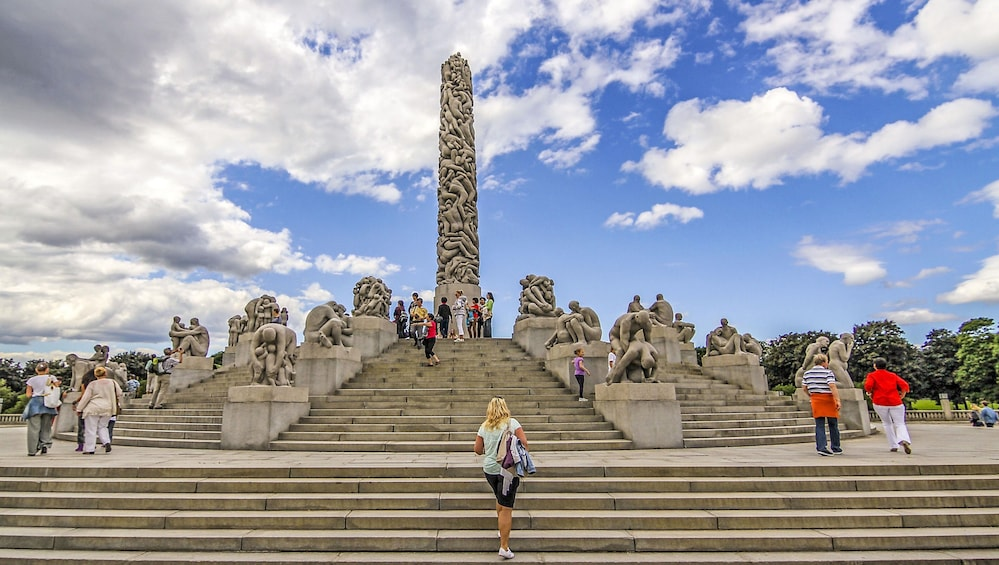 Show item 1 of 10. The Ultimate Study of the Human Form at Vigeland's Sculpture