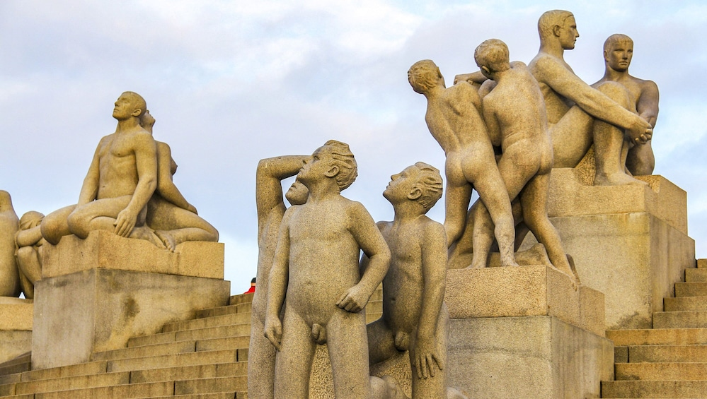 Show item 5 of 10. The Ultimate Study of the Human Form at Vigeland's Sculpture