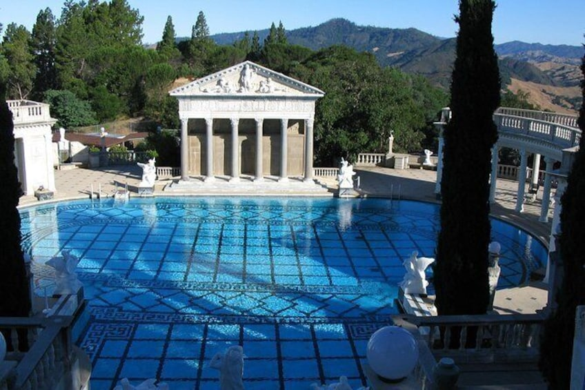 Show item 1 of 15. Hearst Castle Tour with pickup from Cambria, CA *