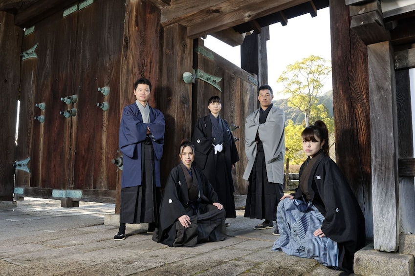 Show item 4 of 7. Kimono photoshoot in an traditional building  NOV - MAY