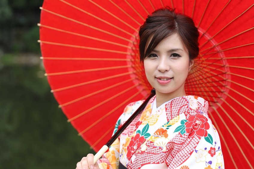 Show item 5 of 7. Kimono photoshoot in an traditional building  NOV - MAY