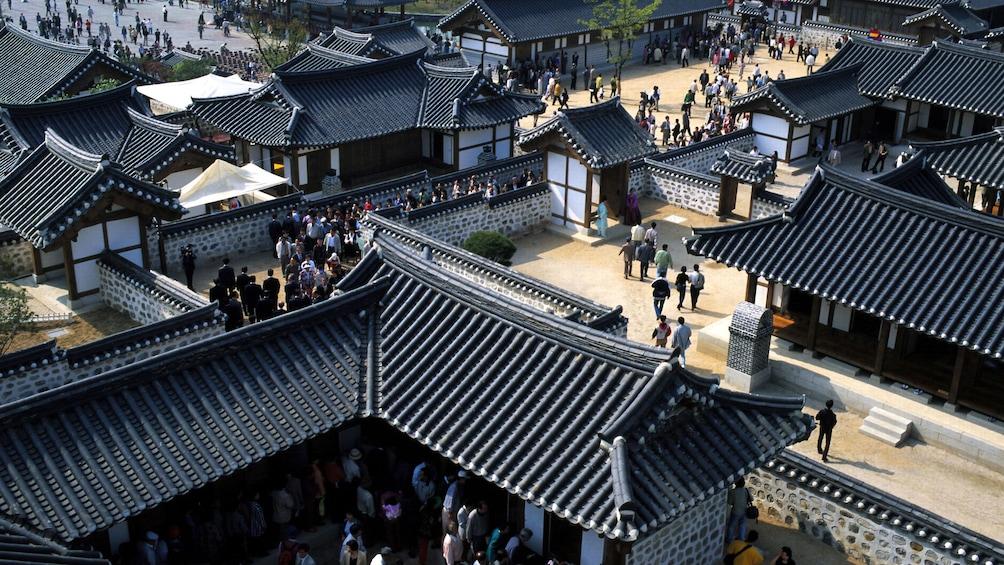 正在顯示第 2 張相片,共 5 張。 Korean Folk Village seen on the guided tour of filming locations of My Love from the Star in Gyeonggi-do