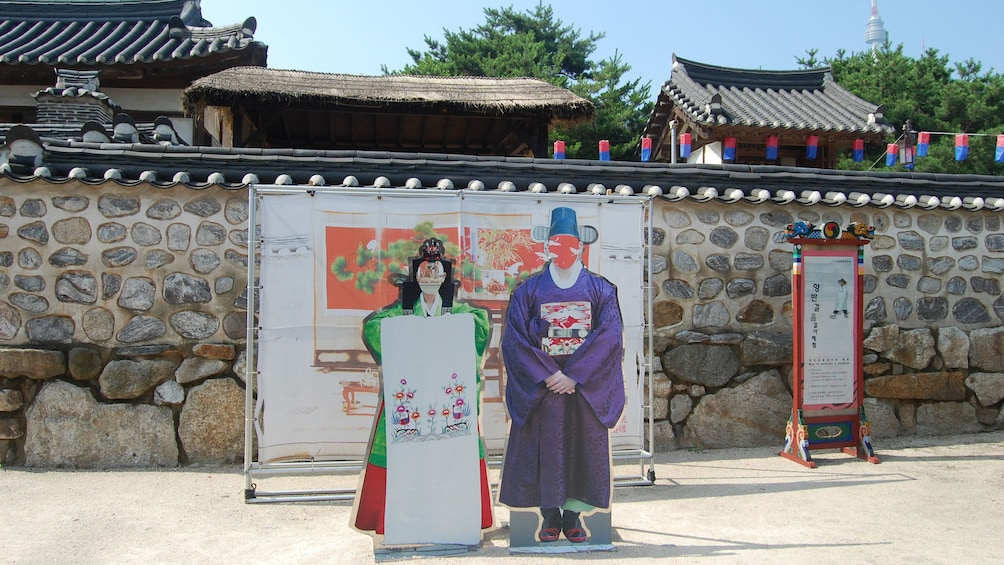 正在顯示第 4 張相片,共 5 張。 Signs on display at the filming locations of My Love from the Star in Gyeonggi-do
