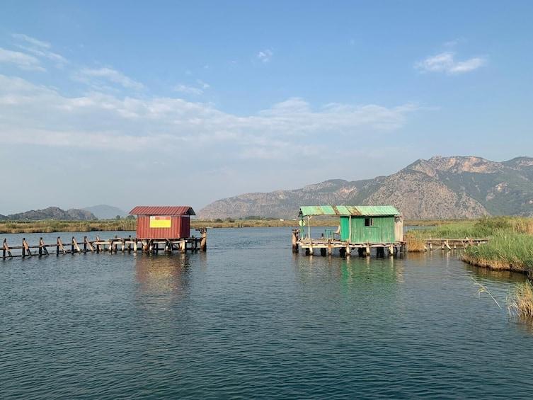 Show item 5 of 8. Dalyan - Mud Baths, River Cruise & Ancient Rock Tombs