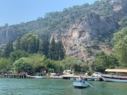 Private Dalyan Mud Baths, River Cruise, Ancient Rock Tombs