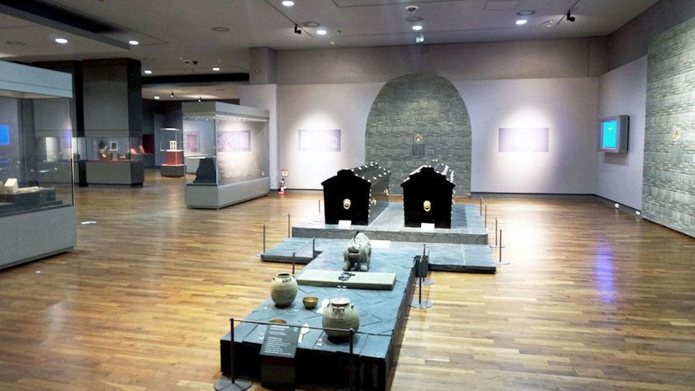 Show item 1 of 5. Interior view of the Gongju National Museum in Gongju