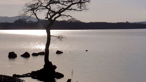 Lake view in edinburgh