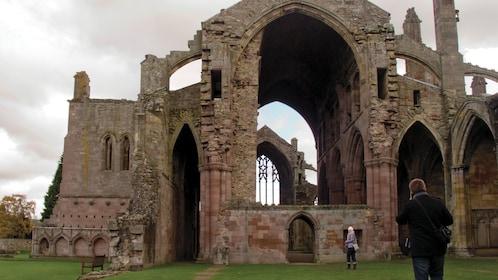 Rosslyn Chapel in Edinburgh