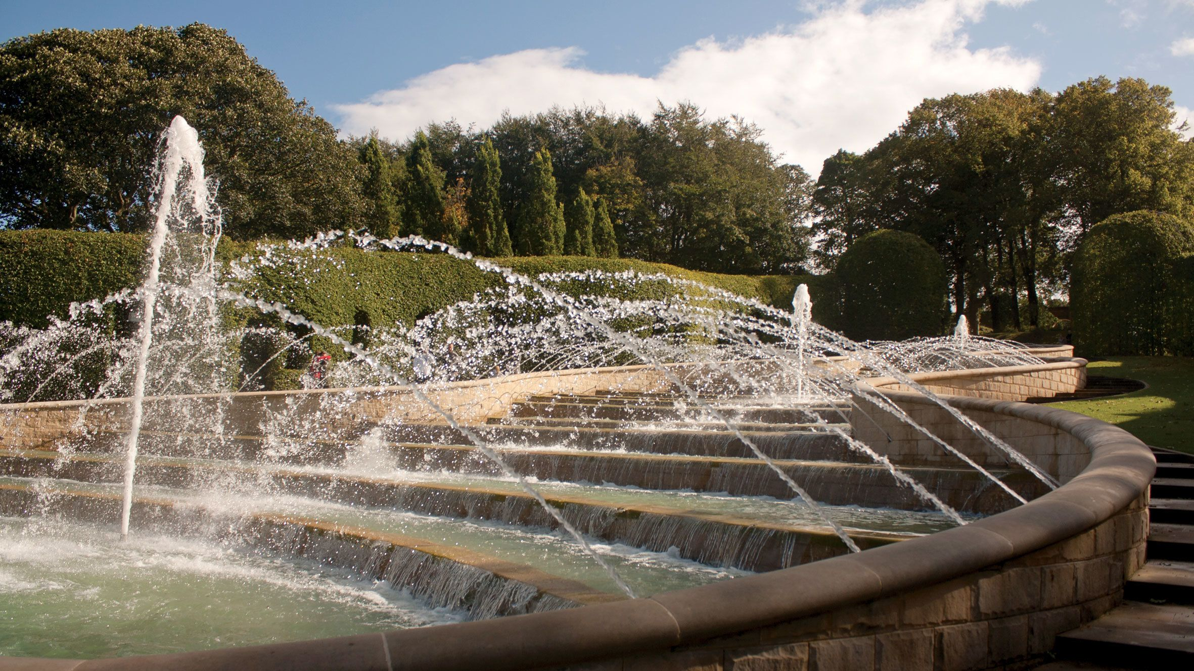 fountain in edinburgh