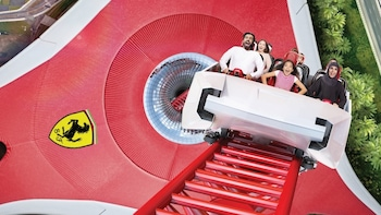 Ferrari World Tickets with Transfers from Dubai
