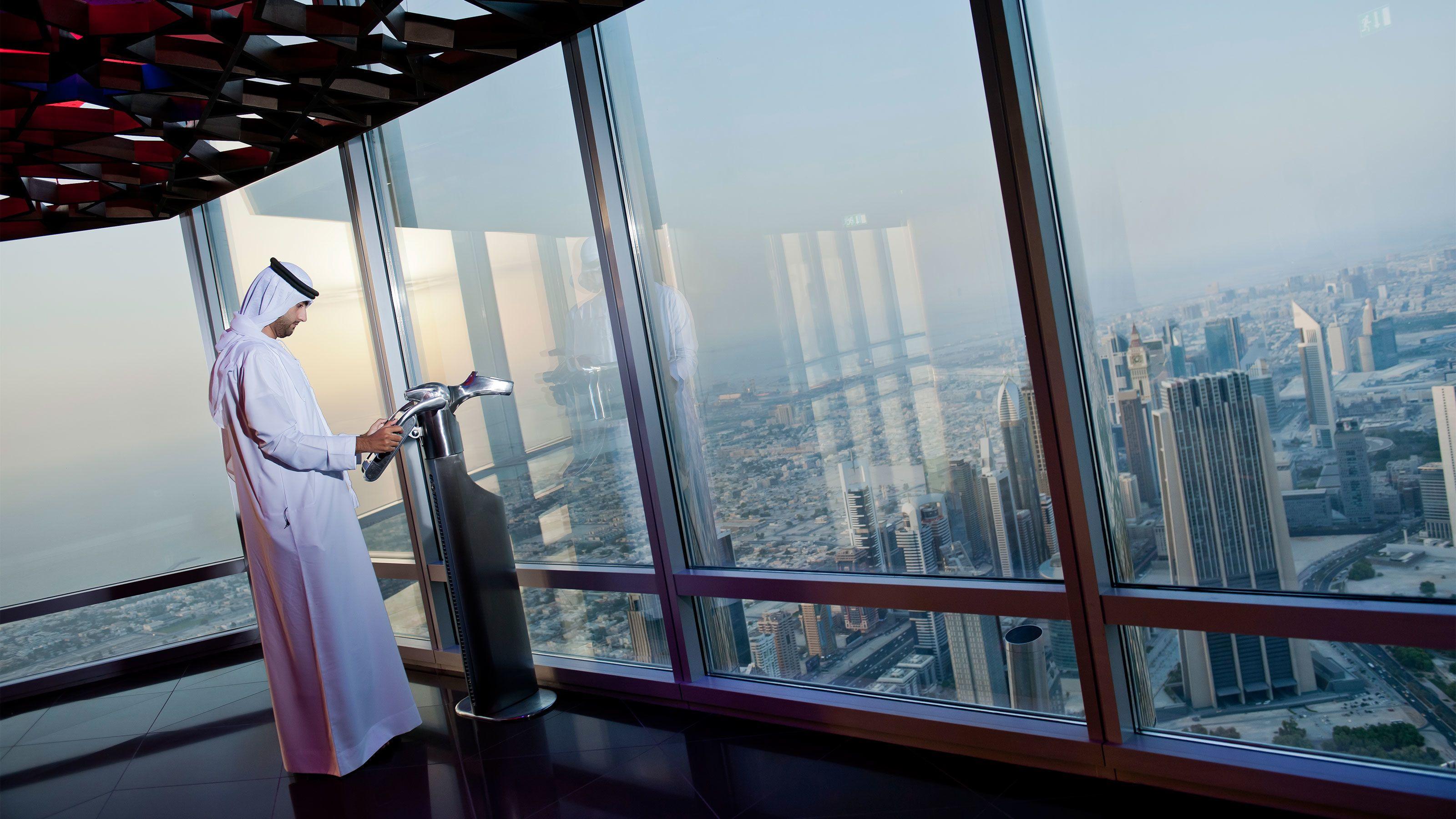 Ticket voor Burj Khalifa SKY Lounge op de 148e verdieping